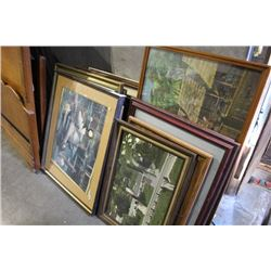 LARGE LOT OF ARTWORK