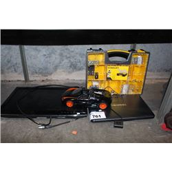 TOSHIBA LAPTOP, TV, TOOL KIT AND RC CAR