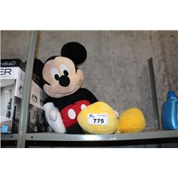 LARGE STUFFED MICKEY MOUSE