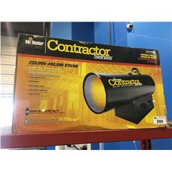 MR HEATER CONTRACTOR SERIES FORCE AIR PROPANE HEATER