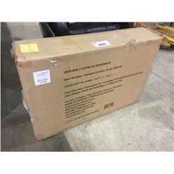 UNASSEMBLED PATIO DECK BOX - NEEDS BOLTS