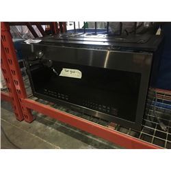 SAMSUNG 2.1 CU FT OVER THE RANGE STAINLESS STEEL MICROWAVE OVEN