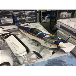 LARGE RC GAS AIRPLANE BODY WITH WINGS - APPROX 5 FT