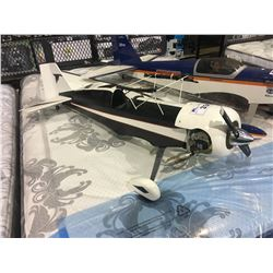 LARGE RC GAS AIRPLANE BODY WITH WINGS - APPROX 4 FT