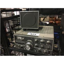 KENWOOD TS-520SE TRANSCEIVER & SPEAKER