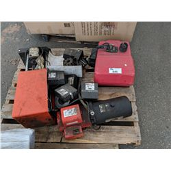 FINNING POWER CRIMP 707 WITH PARTS