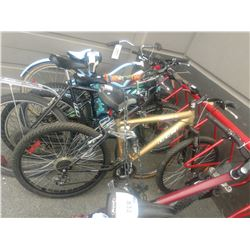 GOLD CCM TORRENT AL DUAL XC 21 SPEED BICYCLE WITH 6061 ALUMINUM FRAME AND FRONT DISC BRAKES