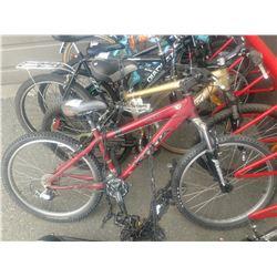 KONA SCRAP RED 16 SPEED BICYCLE