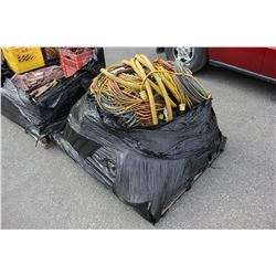 PALLET OF ASSORTED POWER CORDS
