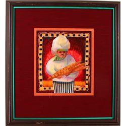 """""""Le Boulanger"""" by Nancy Dunlop Cawdrey"""
