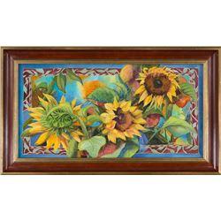 Sunflower Salute  by Nancy Dunlop Cawdrey