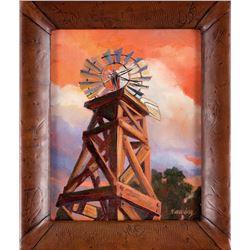 """Chasing Windmills"" by Nancy Dunlop Cawdrey"