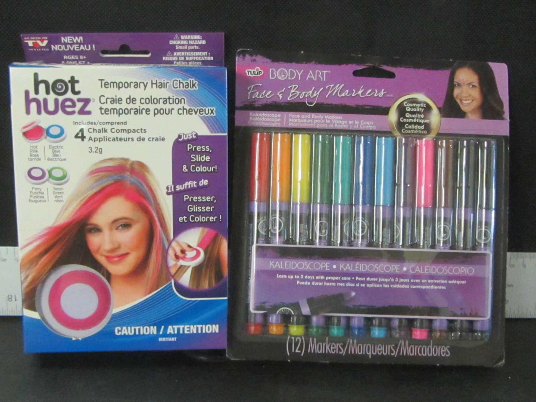 New Body Art Markers Temporary Hair Chalk