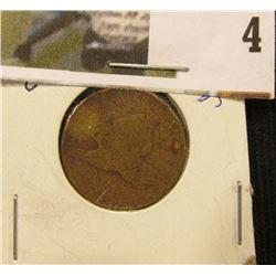 1857 U.S. Flying Eagle Cent.