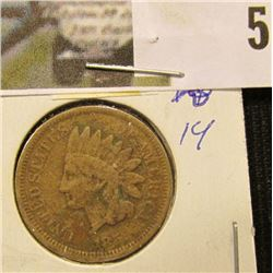 1859 U.S. Indian Head Cent.