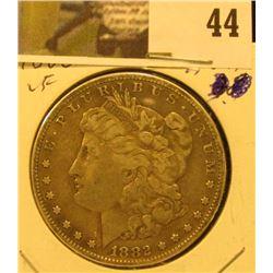 1882 S U.S. Silver Morgan Dollar, VF.