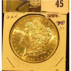1884 O U.S. Silver Morgan Dollar, Brilliant Uncirculated.