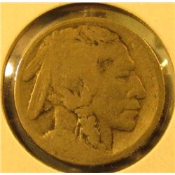 1914-S Buffalo Nickel, G partial date, value $26