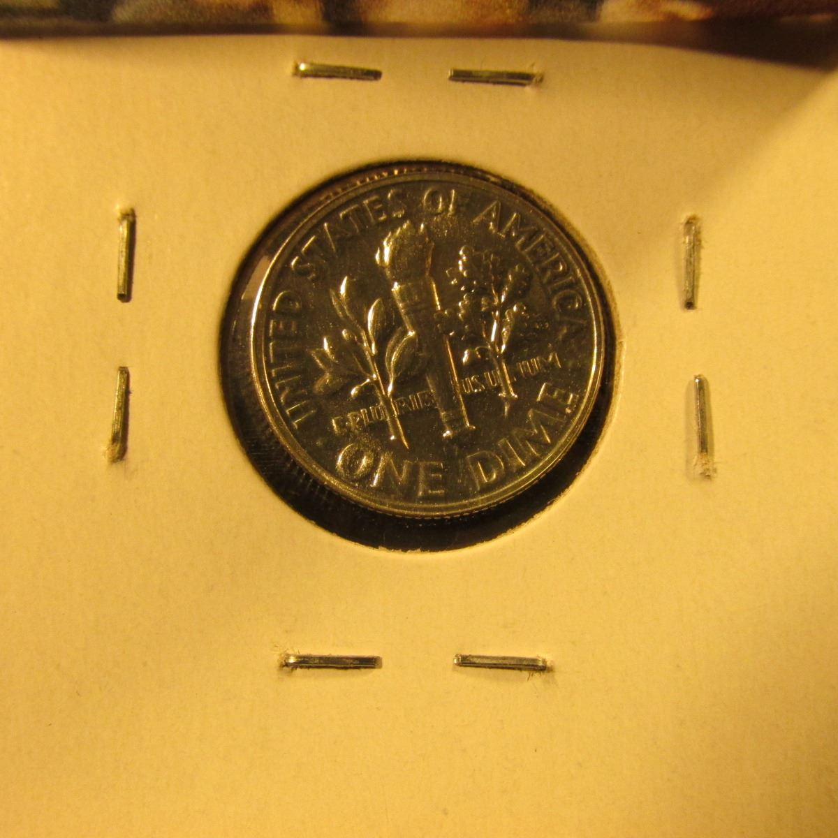 1956 Silver PROOF Roosevelt Dime, value $8