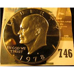 1978-S PROOF Eisenhower Dollar, value $5