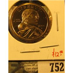 2000-S PROOF Sacagawea Dollar, value $12