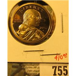 2003-S PROOF Sacagawea Dollar, value $10