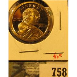 2006-S PROOF Sacagawea Dollar, value $10