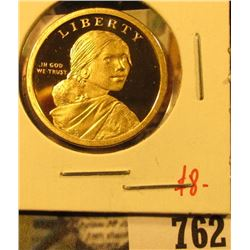 2011-S PROOF Native American Dollar, value $8