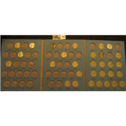 1938-61 Partial Jefferson Nickel Set in a blue Whitman folder. Includes (1) Silver War Nickels.