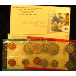 1971 & 1972 U.S. Mint Set. Original as issued.