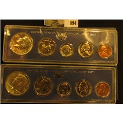 1966 & 1967 U.S. Special Mint Sets in original boxes.