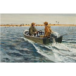 Bob Kuhn -Duck Hunters