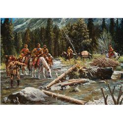 Jim Carson -Beaver Men Scouting