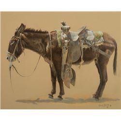 Wayne Baize -Saddled Donkey