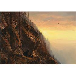 Michael Coleman -Sunset-Nimpkish River