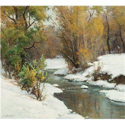 Clyde Aspevig -Autumn Stream