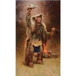 Z.S. Liang -Bear Medicine Man Crow