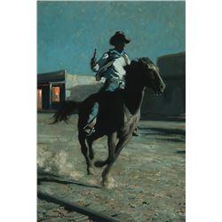 Maynard Dixon -The Sheriff Rides