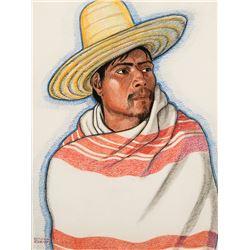 Winold Reiss -Indian Man