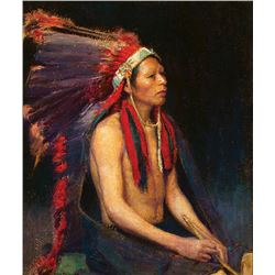 Bert G. Phillips -Tah-Tsee-Yo (Red Indian Chief)