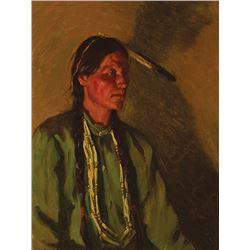 Joseph H. Sharp -White Weasel, Taos Scout