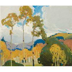 Victor Higgins -Fall Landscape