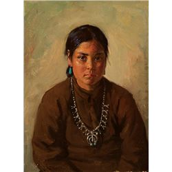 Joseph H. Sharp -Hoseah Navajo