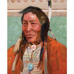 Laverne Nelson Black -Comanche Brave