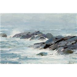 Richard Schmid -Breakers, Isle of Monhegan