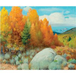 Gerard Curtis Delano -Autumn in Colorado