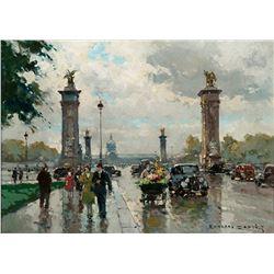 Edouard Cortes - Pont Alexandre III