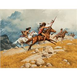 Frank McCarthy -Sentinels of the Rockies