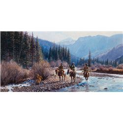 Martin Grelle -Following the River
