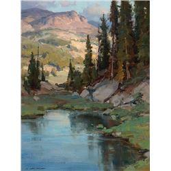 Clyde Aspevig -Beartooth Pond